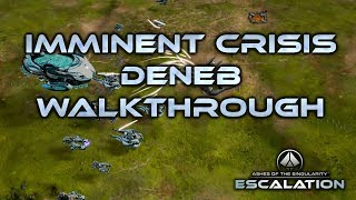 Ashes of the Singularity: Escalation Deneb walkthrough Imminent Crisis campaign