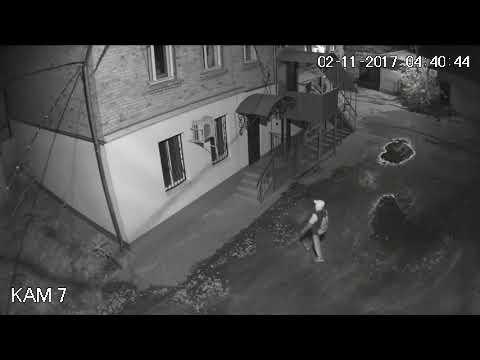 Кража частей кондиционера, г. Никополь 02.11.17