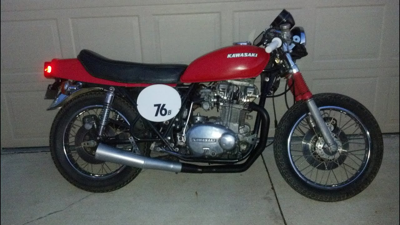1976 Kawasaki Kz750 Twin Cafe