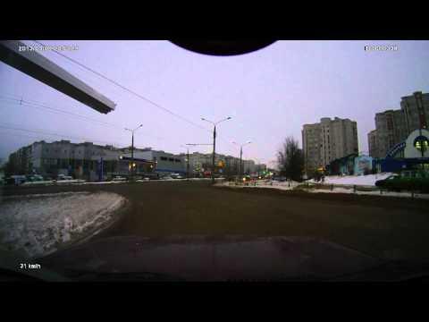 ДТП на пересечении улиц Верхняя и Нижняя Дуброва