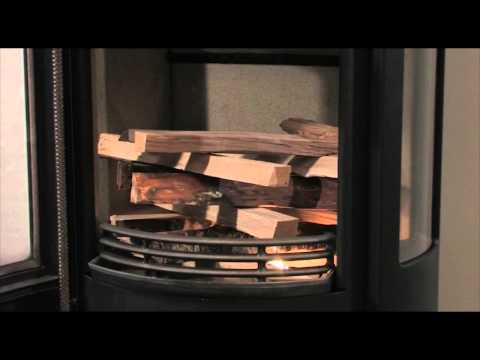 How to light your Contura Wood Burning Stove