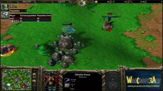 Fly(ORC) vs 120(UD) - WarCraft 3 Frozen Throne - RN2883