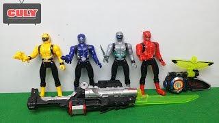 Siêu nhân chiến đội đặc mệnh Go Busters power rangers toy for kid