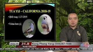 Hunter Education with Kong Pheng Yang 11-27-2018
