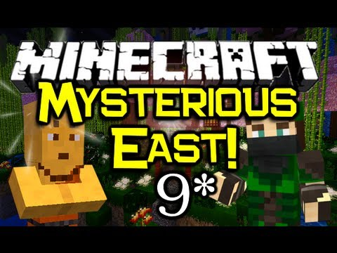Minecraft - MYSTERIOUS EAST! - Part 9 (Minecraft Adventure Map)