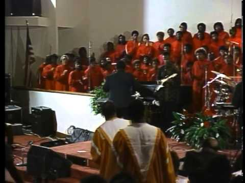 "Georgia Mass Choir - ""I Sing Because I"