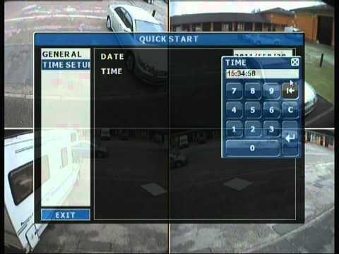 AVTECH CCTV DVR menu explained part 1 of 2
