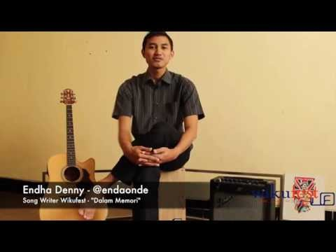 [Special Interview] Endha Denny - Song Writer Wikufest