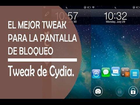 El tweak definitivo para la pantalla de bloqueo  iPod iPad iPhone