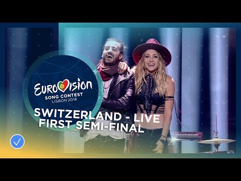 ZiBBZ - Stones - Switzerland - LIVE - First Semi-Final - Eurovision 2018