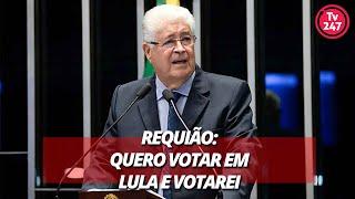 Requião: quero votar em Lula e votarei