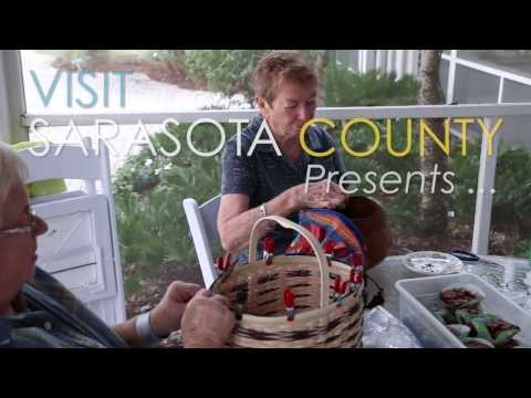 Play VisitSarasota.org: Venetian Society of Basket Weavers at Historic Spanish Point