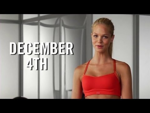 Victoria's Secret Workout, Core Exercises With Trainer Justin Gelband, Fit How To