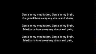 Ganja in my brain Ras Matthew (lyrics)