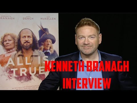 Kenneth Branagh Interview - All Is True