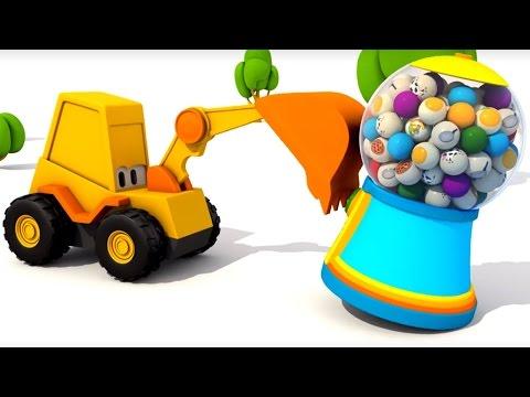 Развивающие мультики для детей - Экскаватор Мася - домашние животные