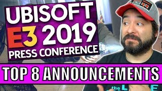 Ubisoft E3 2019 : The 8 BEST Announcements  | 8-Bit Eric