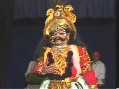 Gadha Yuddha Yakshagana By Chittani - Part I video