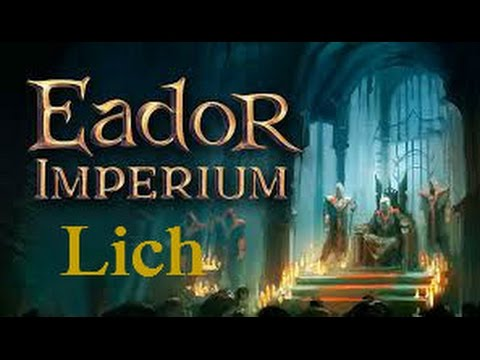 Eador Imperium first look - New Hero: Lich streaming vf