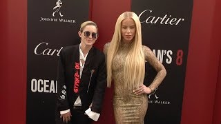 Nats Getty and Gigi Gorgeous at Ocean s 8 World Premiere in New York City
