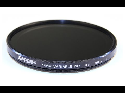 Product Review - Tiffen Variable Neutral Density Filter