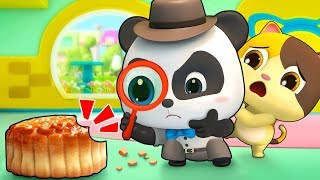 Who Stole Baby Panda's Moon Cake | Baby Panda's Magic Bow Tie | Magical Chinese Characters | BabyBus