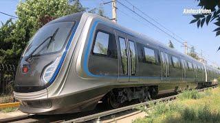China's futuristic metro train completes trial runs on test route