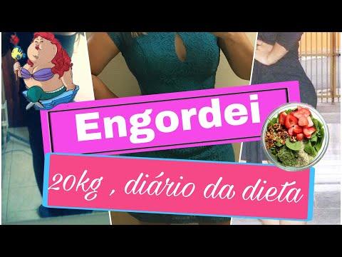 Engordei 20kg + Vou Começar Diário Da Dieta