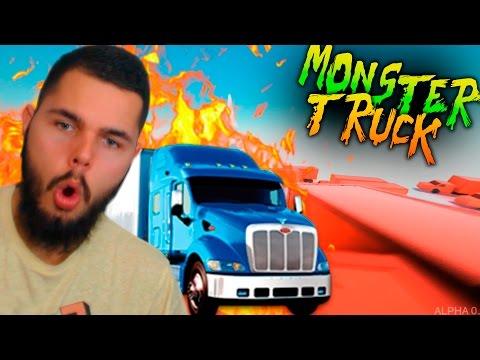 NUEVO JUEGO!!  SUPER TRUCK - SALTA DE CAMIÓN EN CAMIÓN :O