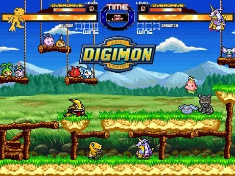 DIGIMON M.U.G.E.N Project 2013 - WIP - New stage by RistaR87