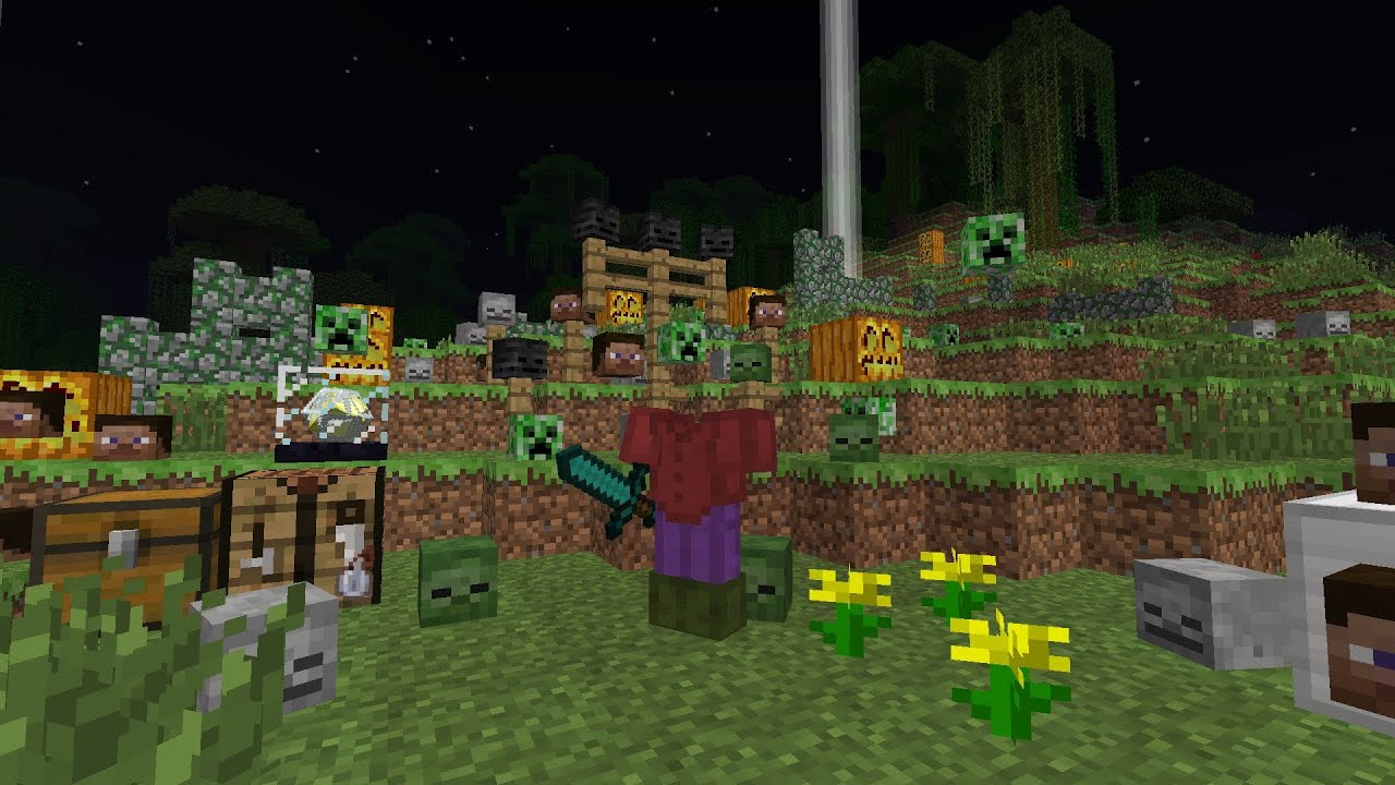MineCraft 1.4 Halloween Update Features - YouTube - photo#1