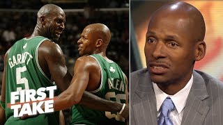Ray Allen: Kevin Garnett has 'forgotten the genesis' of our relationship | First Take
