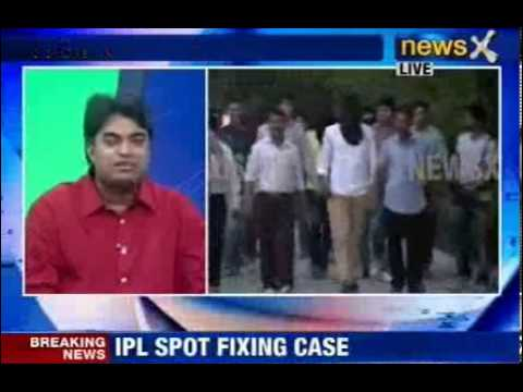 NewsX: Spot fixing: 5 days police custody for Sreesanth, other accused