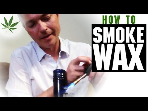 How to Smoke Wax Concentrates. Budder. Shatter. Oil Dabs Marijuana Tricks & Tips w/ Bogart #3