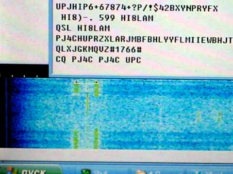 pj4c cq rtty on 30m.AVI