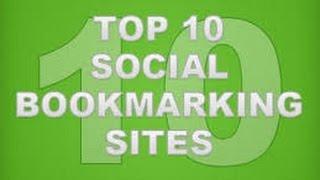 Top Social Bookmarking sites list- 2017 for Seo