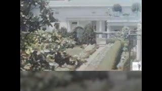 This may be the earliest color footage of the White House