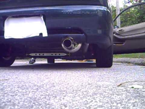 Exhaust Integra ls 98 Integra ls Obx-r Twin Loop