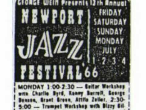 1966-Newport - Charlie Byrd - Nuages -guitar workshop (audio)