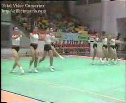 Team Age Group 1  - 1 place _ HoChiMinh Open Aerobic Gymnastics Championships 2005