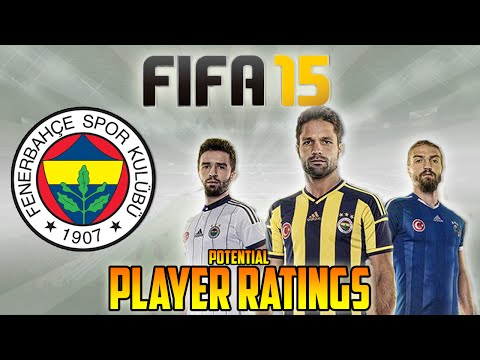 Fifa 15 Player Rating Predictions - Fenerbahce | Diego Ribas, Kuyt, Volkan & more!