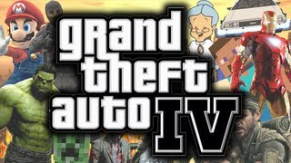GTA 4: Mods - BEST MOMENTS MONTAGE! - (Funny Gaming Moments Montage)