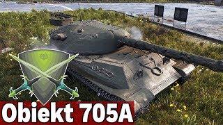ŚWIETNY PANCERZ? - Obiekt 705A - World of Tanks