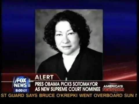 Media Justice for Sotomayor