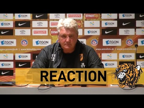 FK AS Trenčín 0 Hull City 0 | Reaction With Steve Bruce
