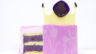 Муссовый торт Лаванда Черника / Mousse Cake Lavender Blueberry