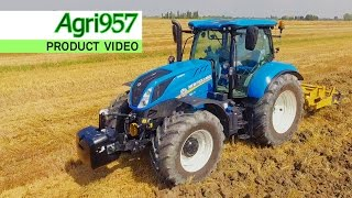 NEWEST NEW HOLLAND T6.175 AUTOCOMMAND Tier 4B - Alpego CRAKER | ProductVideo Agri957 4K