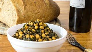 Download Lagu Spanish Recipe - Chickpeas with Spinach - Vegan Vegetarian Gratis STAFABAND