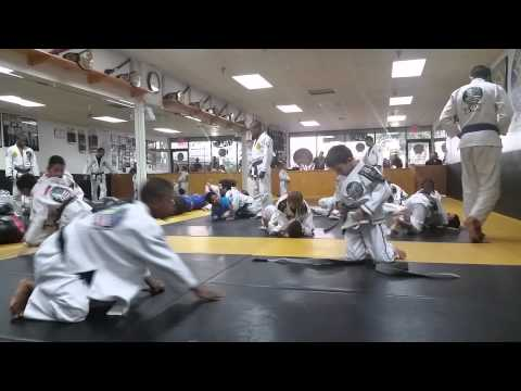 Kids BJJ Training 4