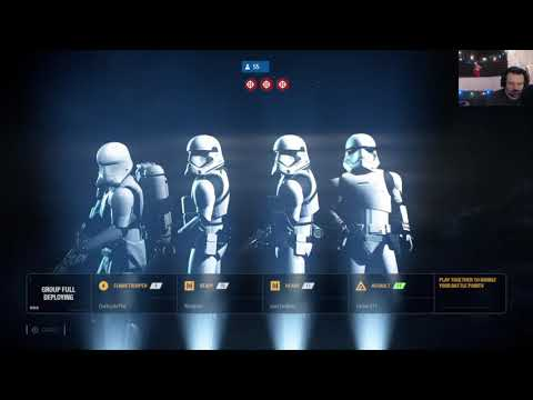 Star Wars Battlefront II MP Madness Dec. 16 pt15 - How Bout Some Crait?